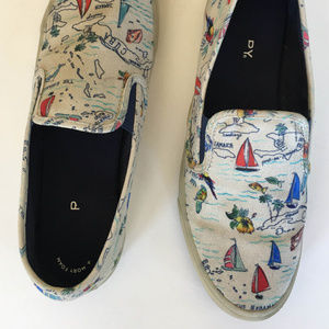 Sperry Seaside Novelty Slip-on Sneakers